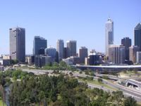 西オーストラリアの州都「パース」